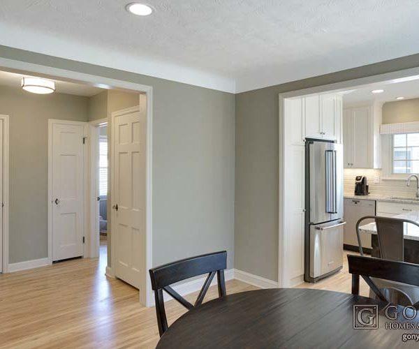 Main living space remodel in St. Paul Minnesota