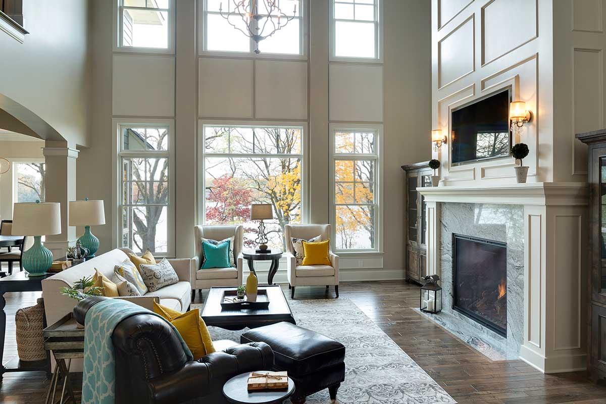 Great Room Ideas: Gonyea Custom Homes