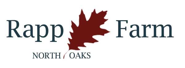 Rapp Farm in North Oaks neighborhood logo