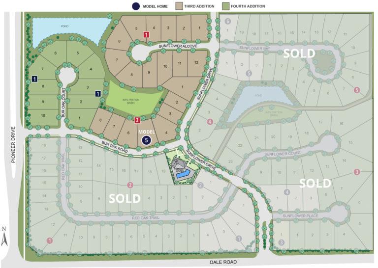 Twenty One Oaks Site Map Web 05.14.19