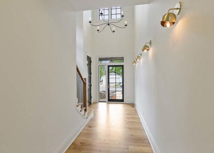 Edina Mid Mod Foyer