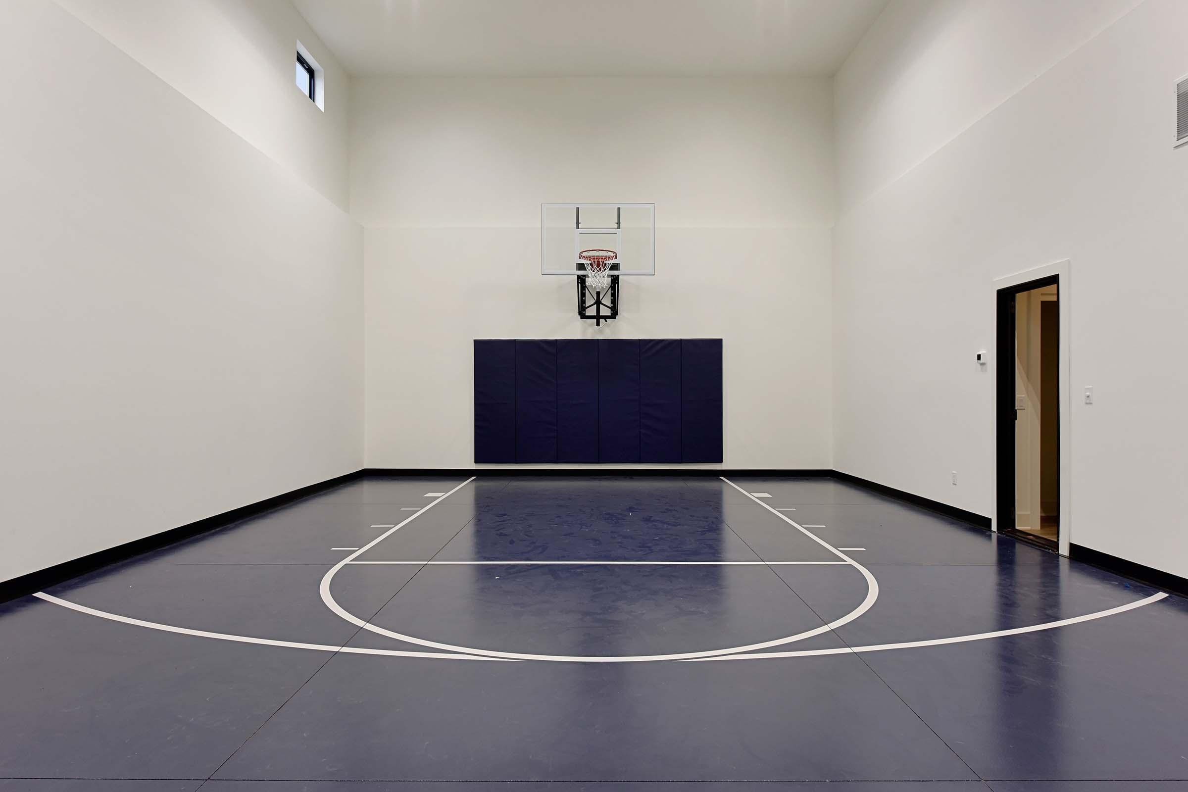sport court Gonyea Custom Home in Shorewood