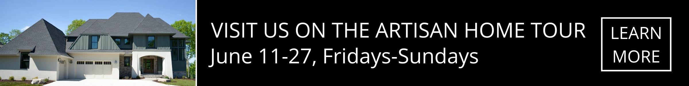 Visit Us On The Artisan Home Tour 2